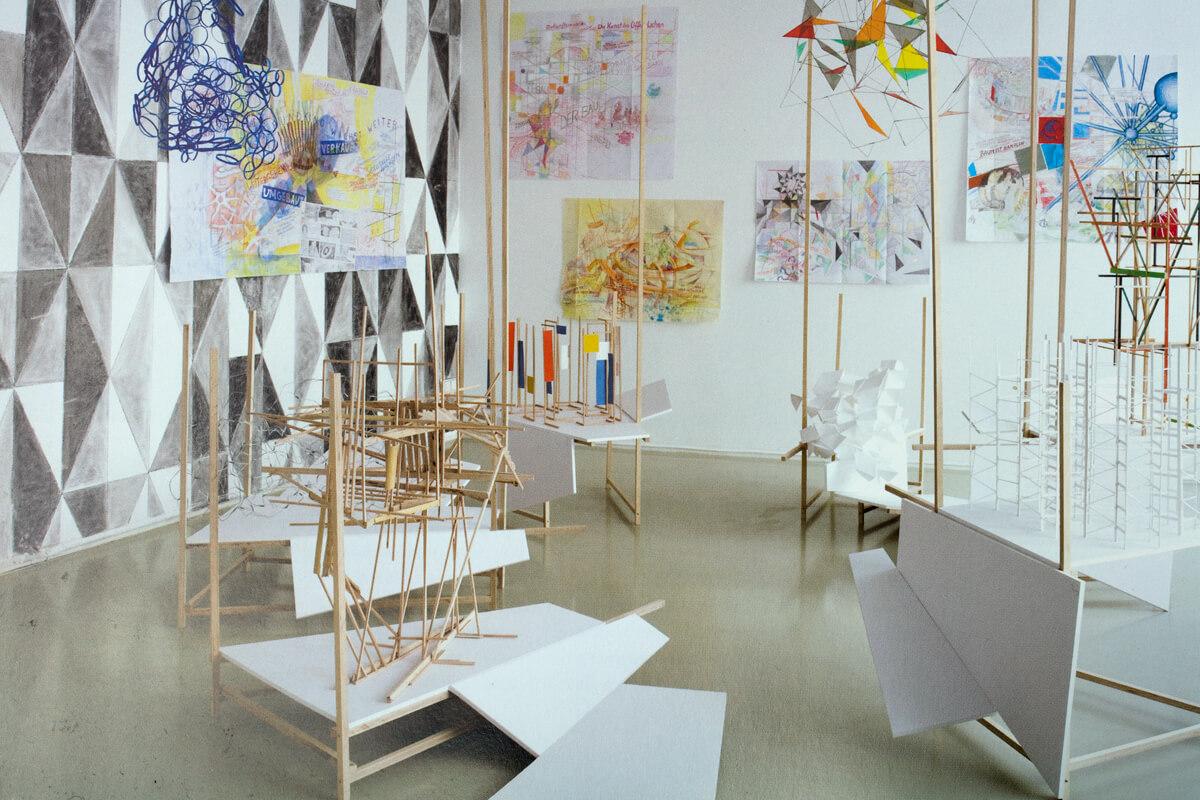 Sielka Riechert, Schoene neue Welten, 2008